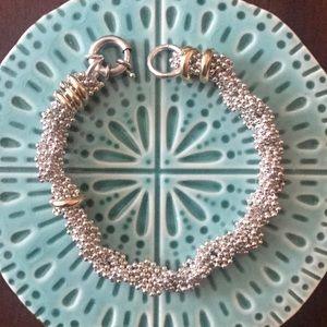 Jewelry - Sterling Silver bead chain bracelet